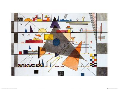 Horizonale, c.1924-Wassily Kandinsky-Art Print