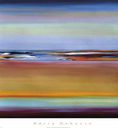 Horizons 4-Barry Osbourn-Art Print