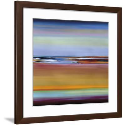 Horizons 4-Barry Osbourn-Framed Art Print
