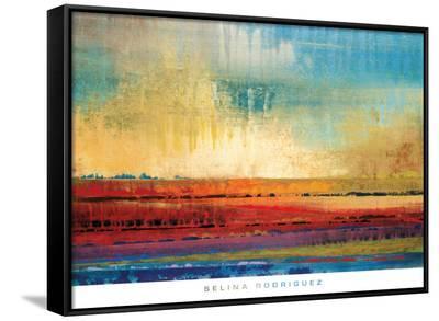 Horizons I-Selina Rodriguez-Framed Canvas Print