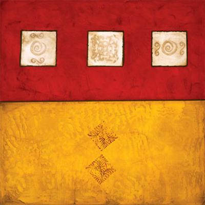 Horizontal Abstract Trio-Courtland-Art Print