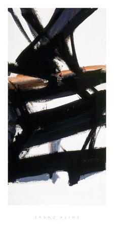 Horizontal Rust-Franz Kline-Giclee Print