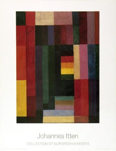 Horizontal/Vertikal-Johannes Itten-Art Print