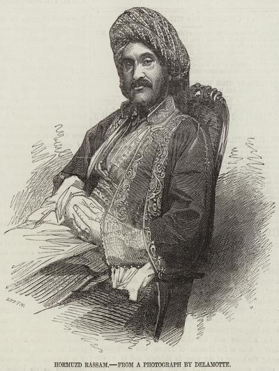 Hormuzd Rassam--Giclee Print