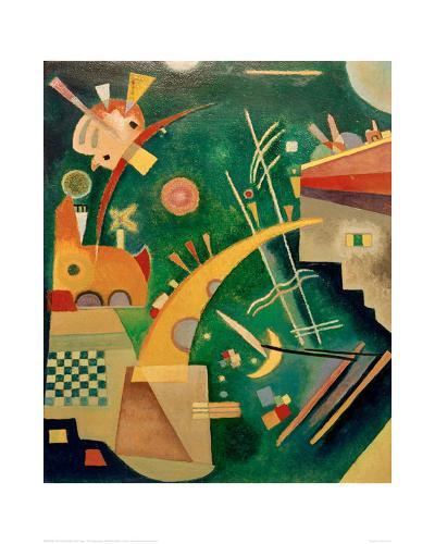 Horn Shape, 1924-Wassily Kandinsky-Giclee Print