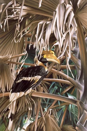 Hornbill, 1987-Sandra Lawrence-Giclee Print