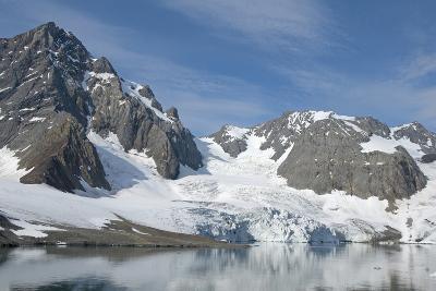 Hornbreen Glacier, Spitsbergen, Svalbard, Norway-Steve Kazlowski-Photographic Print