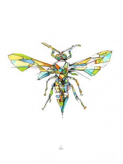 Hornet-Alexis Marcou-Art Print