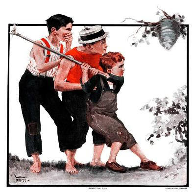 """Hornets' Nest,""August 25, 1923-WM. Hoople-Giclee Print"