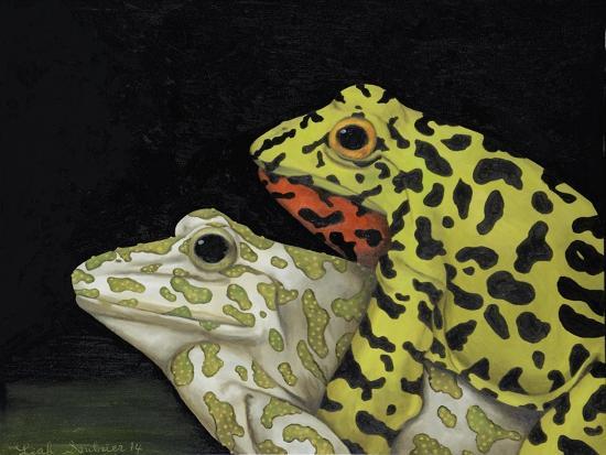 Horny Toads 3-Leah Saulnier-Giclee Print
