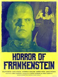 Horror of Frankenstein 1970 (Yellow)