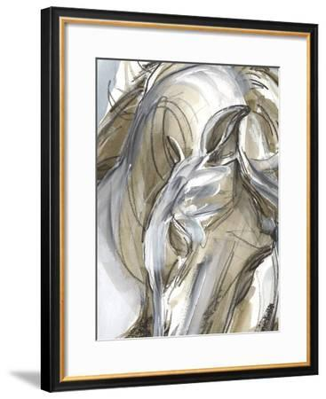 Horse Abstraction I-Jennifer Paxton Parker-Framed Giclee Print