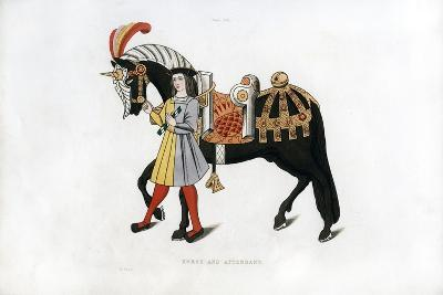 Horse and Attendant, C1511-Henry Shaw-Giclee Print