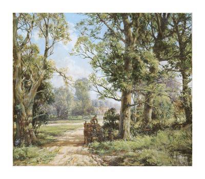 Horse and Cart-Montague Dawson-Premium Giclee Print