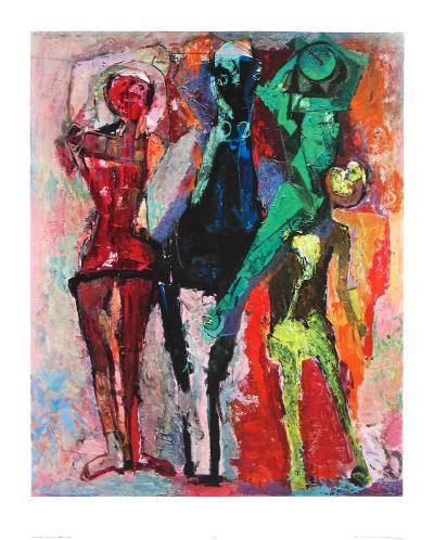 Horse and Jugglers-Marino Marini-Collectable Print