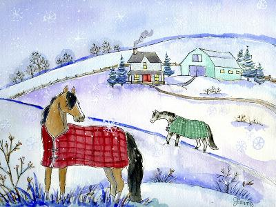 Horse Blanket-Jennifer Zsolt-Giclee Print