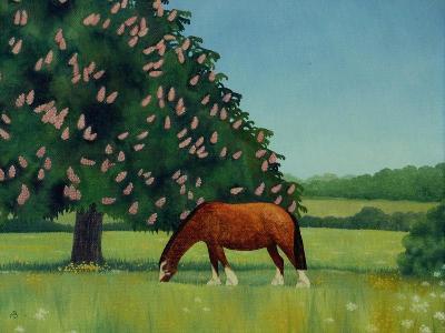 Horse Chestnut, 2001-Ann Brain-Giclee Print