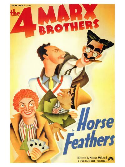Horse Feathers, 1932--Art Print
