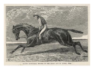 Horse 'Flying Dutchman'--Giclee Print