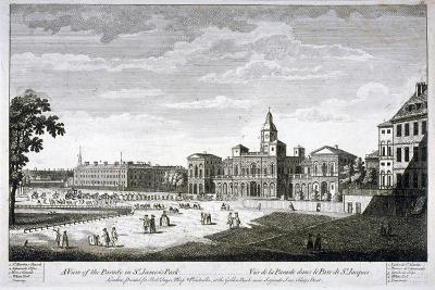 Horse Guards Parade from the South-West, Westminster, London, C1750--Giclee Print