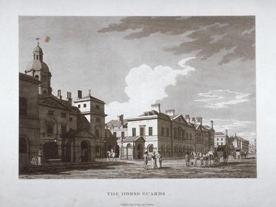 Horse Guards, Westminster, London, 1794--Giclee Print