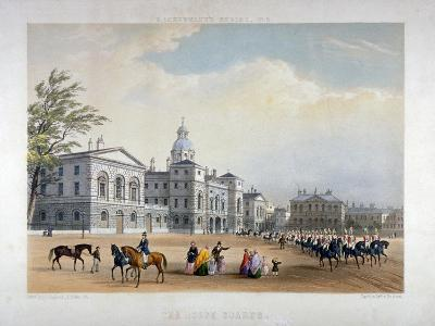 Horse Guards, Westminster, London, 1851-Thomas Picken-Giclee Print