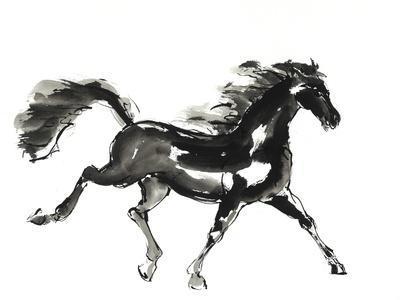 Horse H4 Premium Giclee Print By Chris Paschke