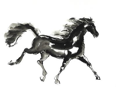 Horse H4-Chris Paschke-Premium Giclee Print