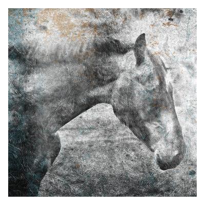 Horse Kiss-OnRei-Art Print