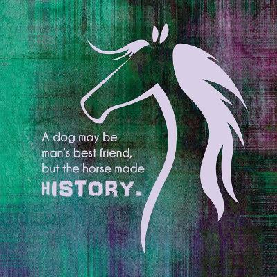 Horse Quote 13-Sports Mania-Art Print