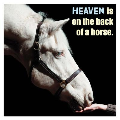 Horse Quote 9-Sports Mania-Art Print