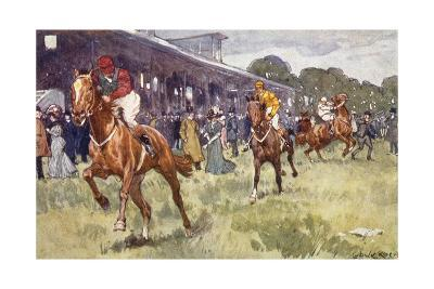 Horse Race, Ludwic Koch-Ludwic Koch-Giclee Print