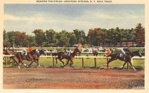 Horse Race, Saratoga Springs, New York