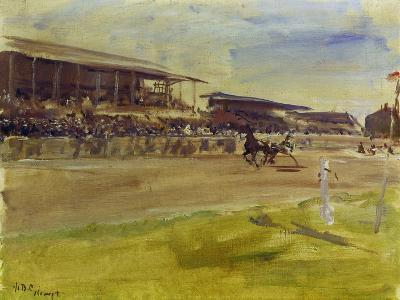 Horse Racing Track in Ruhleben, 1920-Max Slevogt-Giclee Print