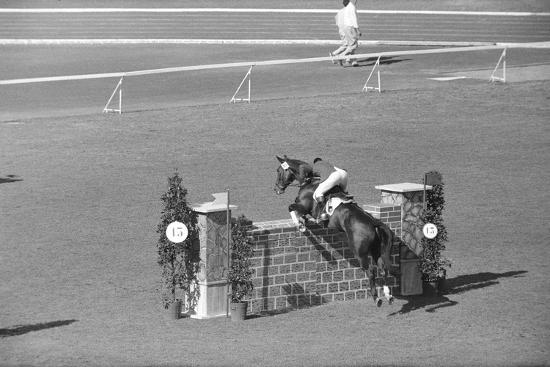 Horse Riding Competition--Photographic Print