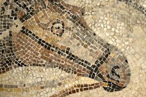 Horse Roman Floor Mosaic