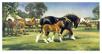 Horse Show-Frank Wootton-Limited Edition