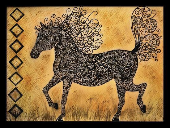 Horse-Tina Nichols-Giclee Print