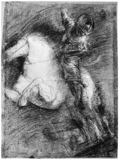 Horseman for the Battle of Cadore, C1525-Titian (Tiziano Vecelli)-Giclee Print