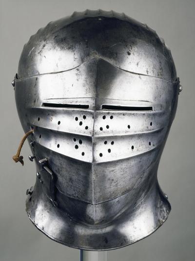 Horseman's Helmet, 1505-1510, in Innsbruck, Austria, 16th Century--Giclee Print