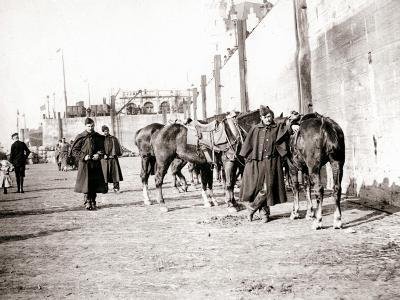 Horseriders, Antwerp, 1898-James Batkin-Photographic Print