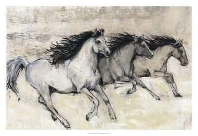 Horses in Motion II--Giclee Print