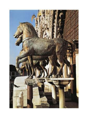 Horses of San Marco--Framed Giclee Print