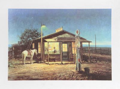 Horseshoe Cafe-Duane Bryers-Limited Edition