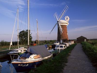 Horsey Windmill, Norfolk Broads, Norfolk, England, United Kingdom-Charcrit Boonsom-Photographic Print