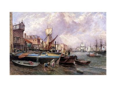 Horsleydown, Bermondsey, London, C1850-JJ Crew-Giclee Print
