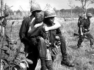 Vietnam War 1967 by Horst Faas