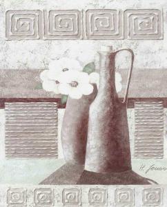 Relief Illustration III by Horst Jonas