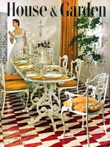 House & Garden Cover - May 1949 by Horst P. Horst