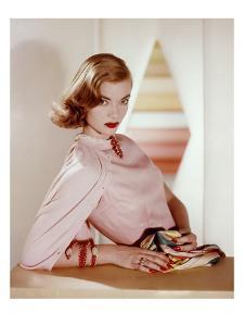 Vogue - April 1955 by Horst P. Horst